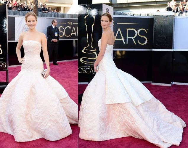 Jennifer Lawrence - Dior Haute Couture - Oscars 2013