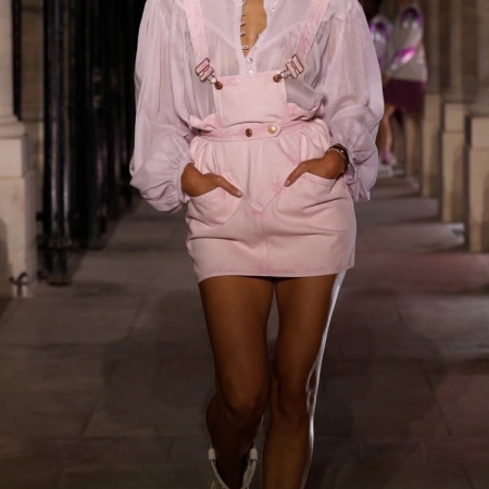 robe rose printemps 2021