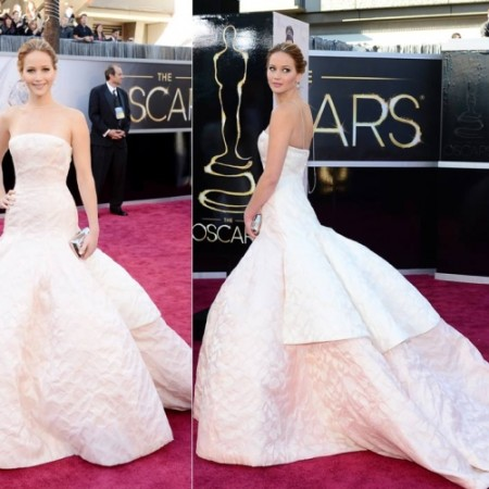 Jennifer Lawrence - Dior Haute Couture - Oscars 2013