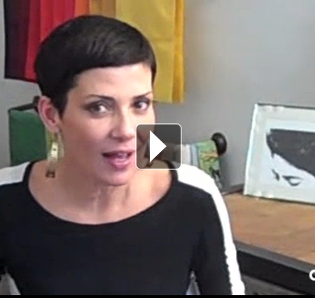 Cristina Cordula - Mode 80s - AuFeminin TV
