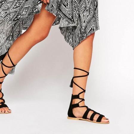 Sandales plates 2