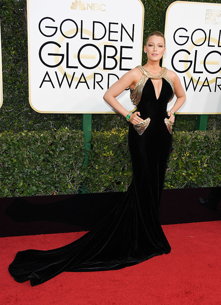 Blake Lively en Atelier Versace