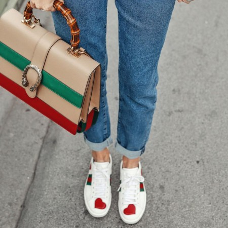 Chic en baskets