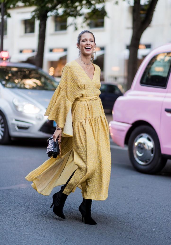 05e02b9e5a3 Comment porter une robe longue quand on est petite   - Cristina Cordula